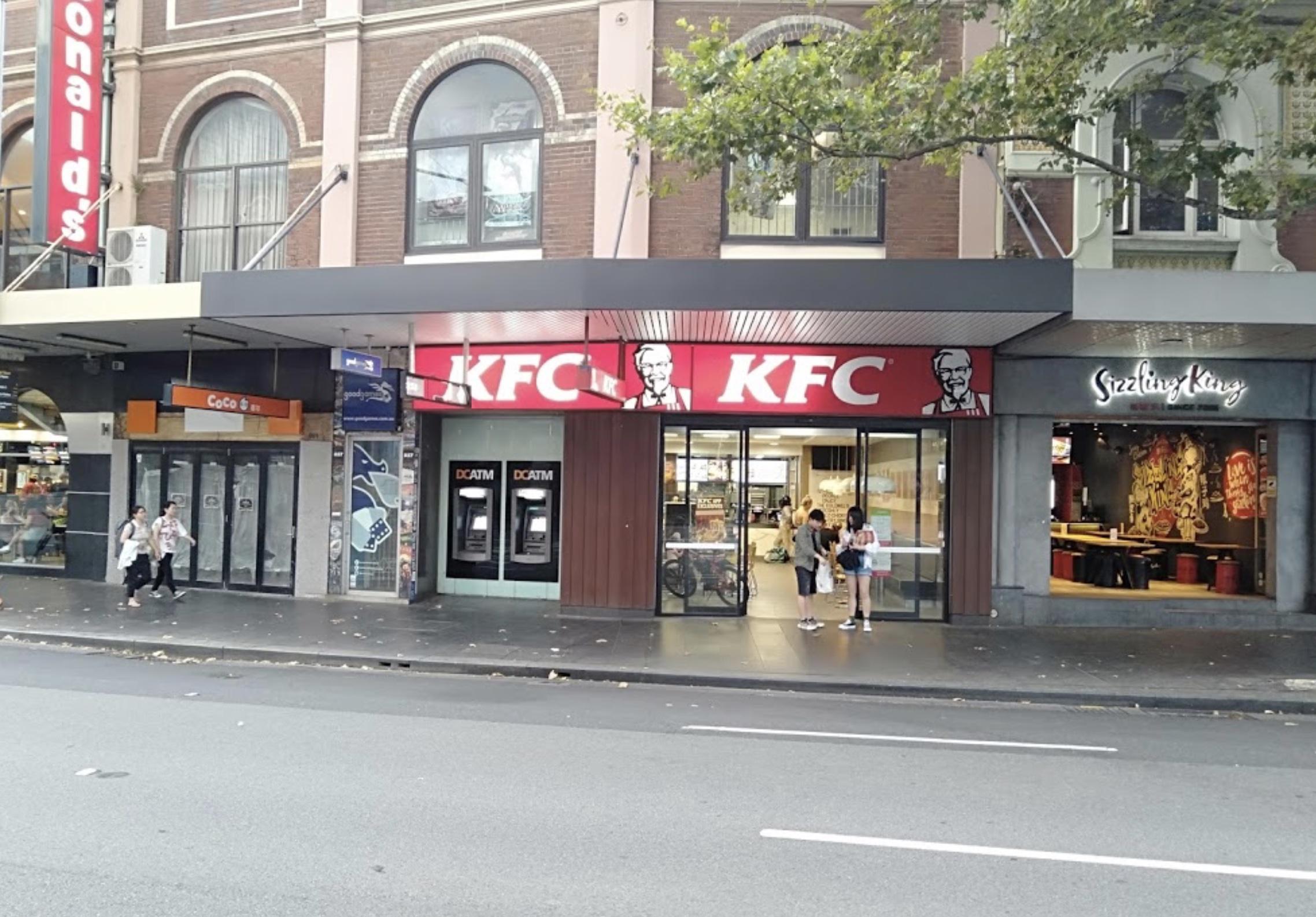 KFC Broadway, Sydney